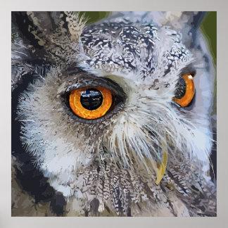 OWLface Poster