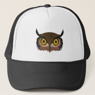 Owl Face Trucker Hat