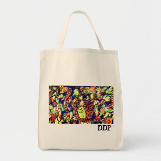 owl fall art five tote bag