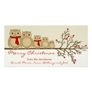 Owl Family Card