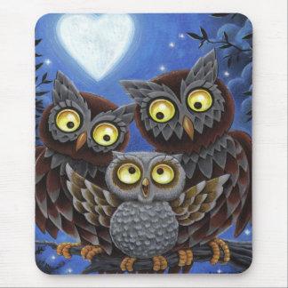 Owl Family Mousepad