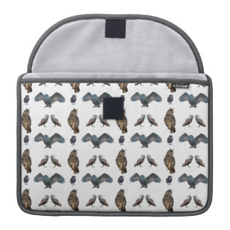 Owl Frenzy MacBook Pro Sleeve (choose colour)