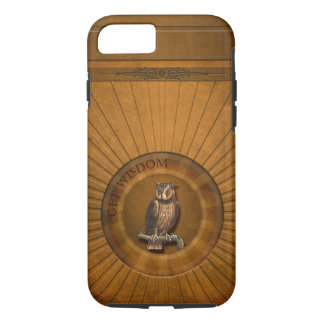 Owl - Get Wisdom. iPhone 7 Case