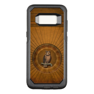 Owl - Get Wisdom. OtterBox Commuter Samsung Galaxy S8 Case