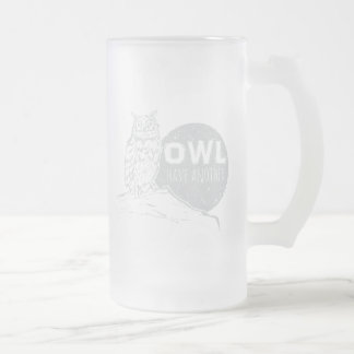 Owl Have Another   Frosted Mug