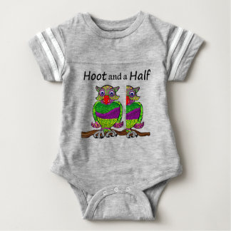 Owl Hoot and a Half Baby Bodysuit