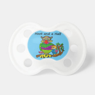 Owl Hoot and a Half Pacifier