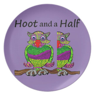 Owl Hoot and a Half Plate