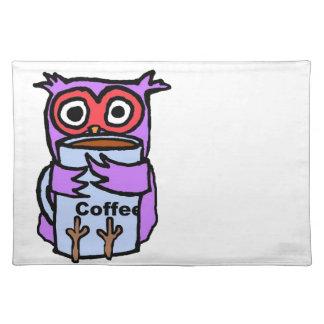 Owl Hugs Coffee Mug Placemat
