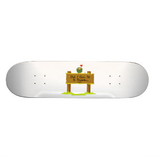 Owl I Can Do Is Dream Of Finding Love Skateboards