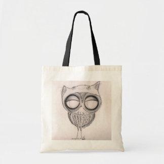 Owl in Cat-Hat - Tote