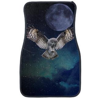 Owl in Flight Auto Mat