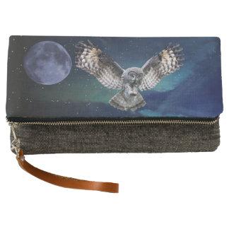 Owl in Flight Clutch