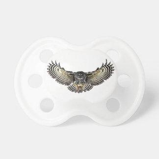 Owl in Flight Pacifiers