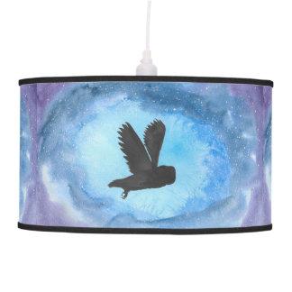Owl In Flight Pendant Lamp