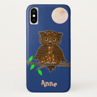 Owl in the Moonlight Case-Mate iPhone Case