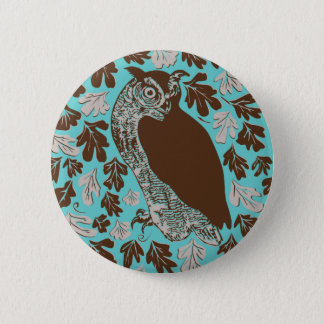 Owl in the Oak Button