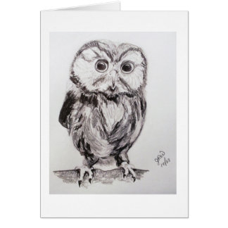 Owl in the World are you? Card