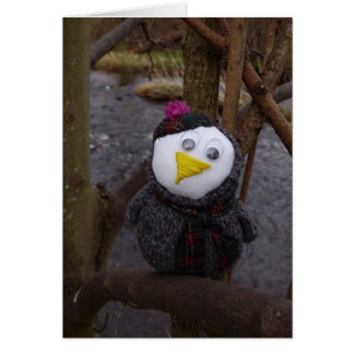 Owl in Tree Card