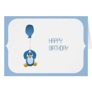 Owl - ish Happy Birthday Card