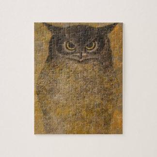 Owl Japanese Fine Art Puzzles