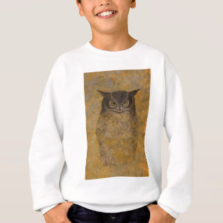 Owl Japanese Fine Art Sweatshirt