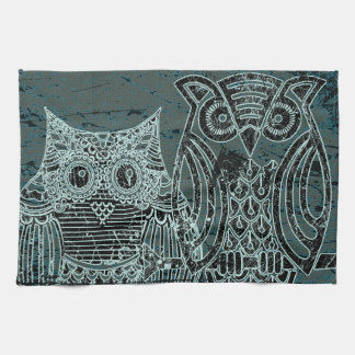 "Owl  Kitchen Towel 16"" x 24"""