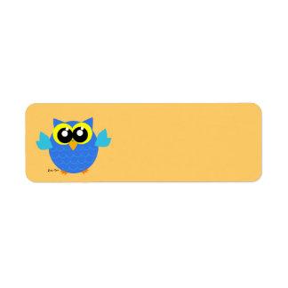 Owl Custom Return Address Labels