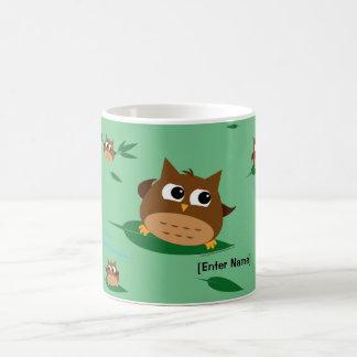 Owl Leaf Surf - Mug