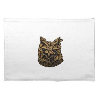 Owl Logo Placemat