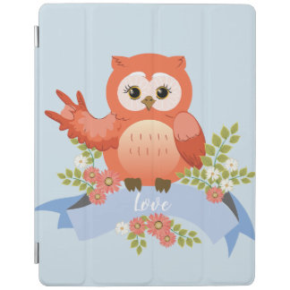 Owl love ASL language iPad Cover