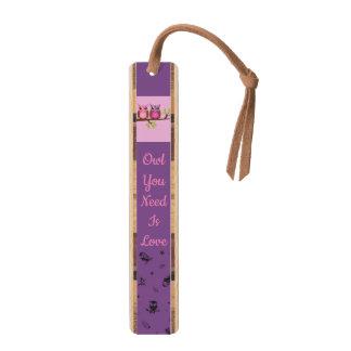 Owl Love Branches Destiny Destiny's Bookmark