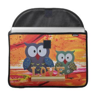 Owl love sleeve for MacBooks