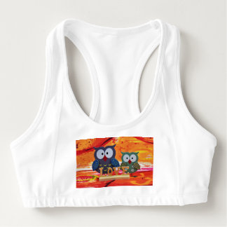 Owl love sports bra