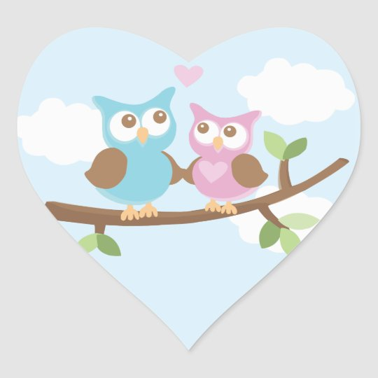 Owl Love Stickers