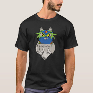 Owl Lucha Star Basic T-shirt