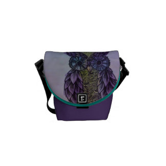 Owl Messanger Bag Courier Bag
