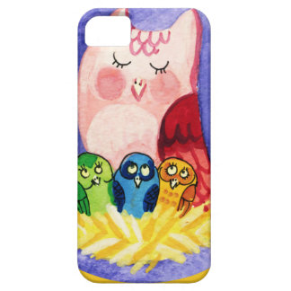Owl mother of triplets iPhone 5 cases