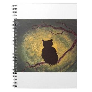 Owl Night Notebook