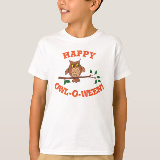 Owl-o-ween - Customizable Halloween T-shirt