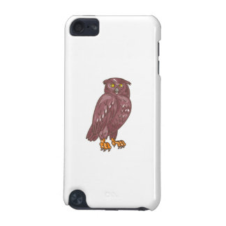 Owl Observing Looking Drawing iPod Touch 5G Cases