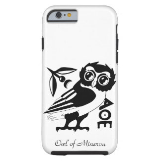 Owl of Minerva, iPhone 6/6s case, White Tough iPhone 6 Case