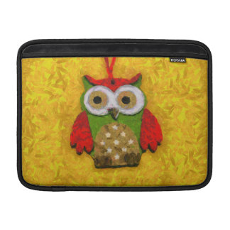 Owl painting MacBook air sleeves