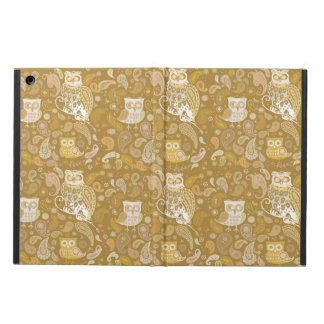 Owl paisley pattern case for iPad air