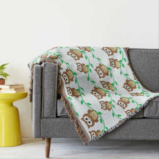 Owl Pattern Blanket