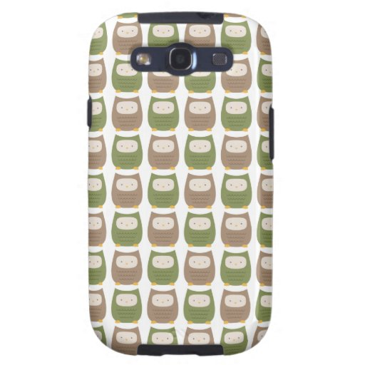 owl pattern kawaii skins and case galaxy s3 cases