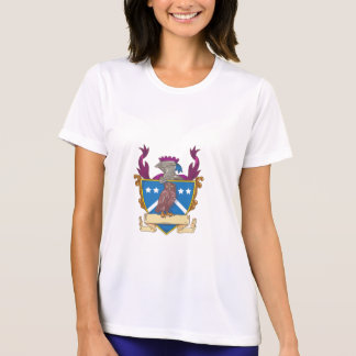 Owl Perching Knight Helmet Crest Drawing T-Shirt