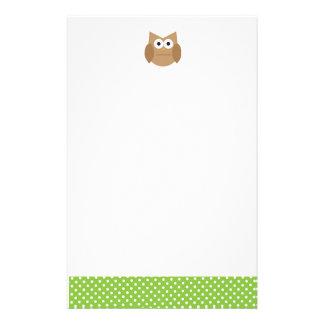 Owl Personalized Stationery