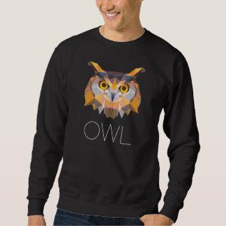OWL Pictogram design Black Sweatshirt
