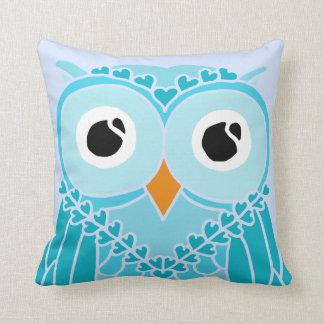 Owl Pillow: Night Owl Throw Pillow
